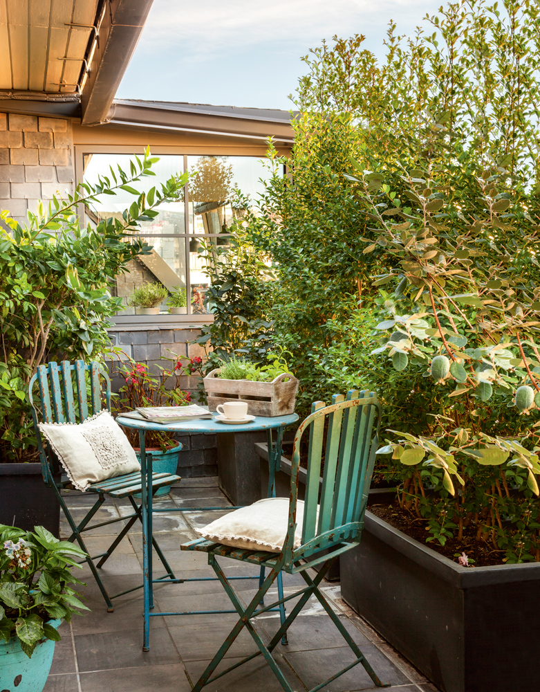 Decoracion de patios pequenos exteriores - Decoracion patios pequenos ...