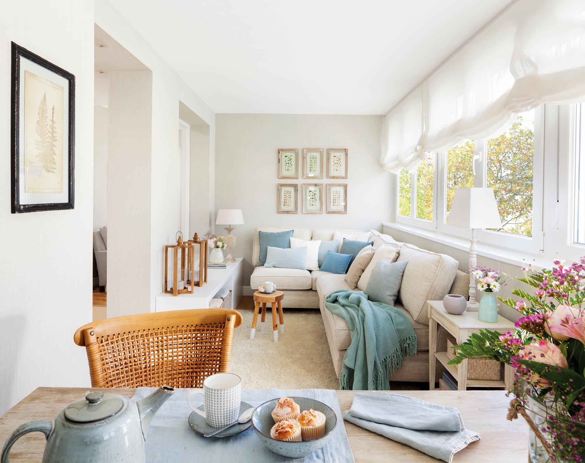 Salones luminosos y frescos for El mueble online