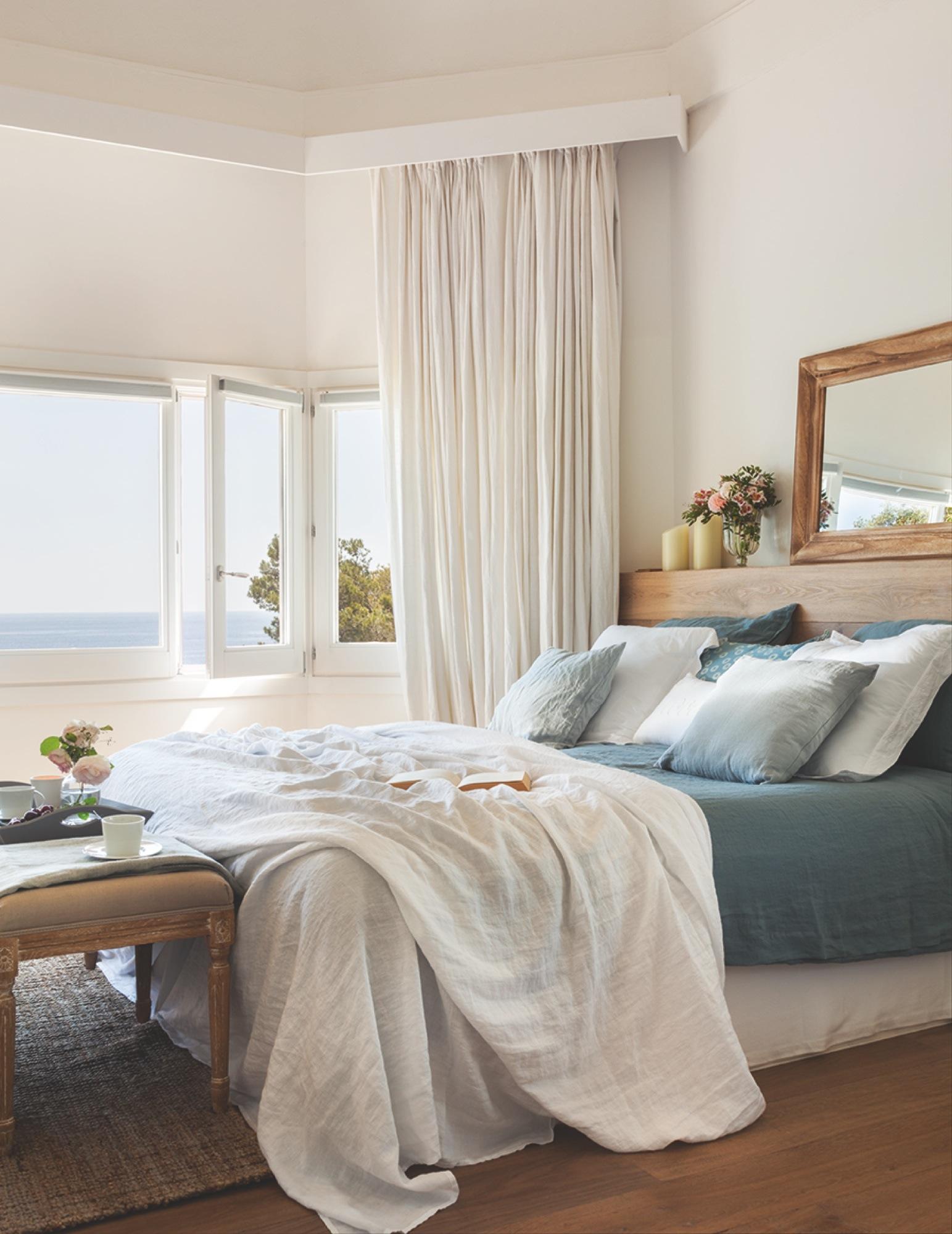 Las mejores casas de verano de el mueble - Cabecero blanco madera ...