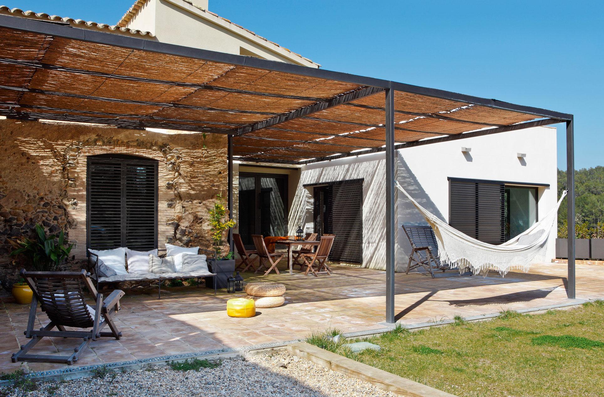 Hamacas decoraci n exterior for Porches para jardin