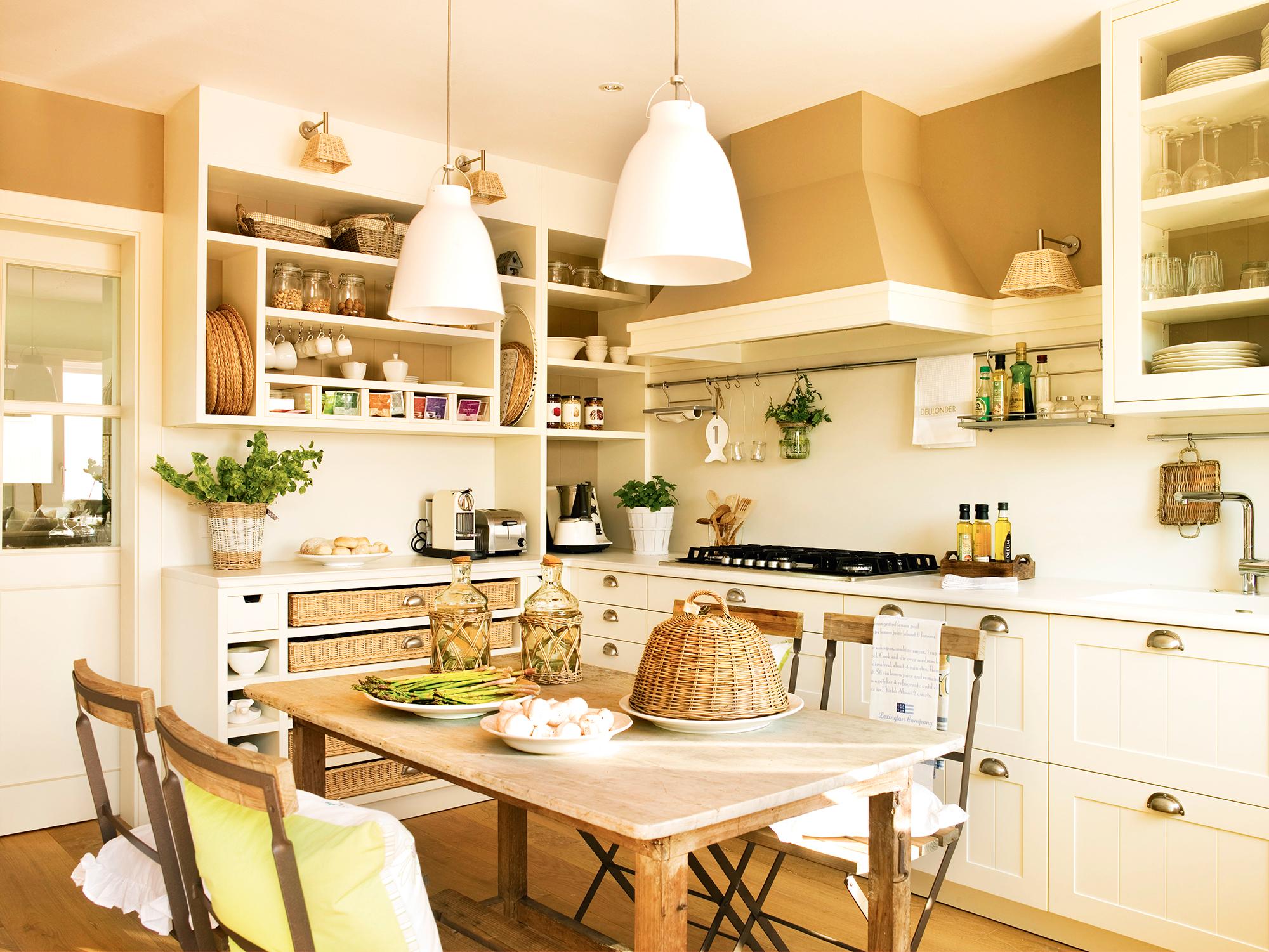 Cocinas las 50 mejores de el mueble - Pintura de cocina ...