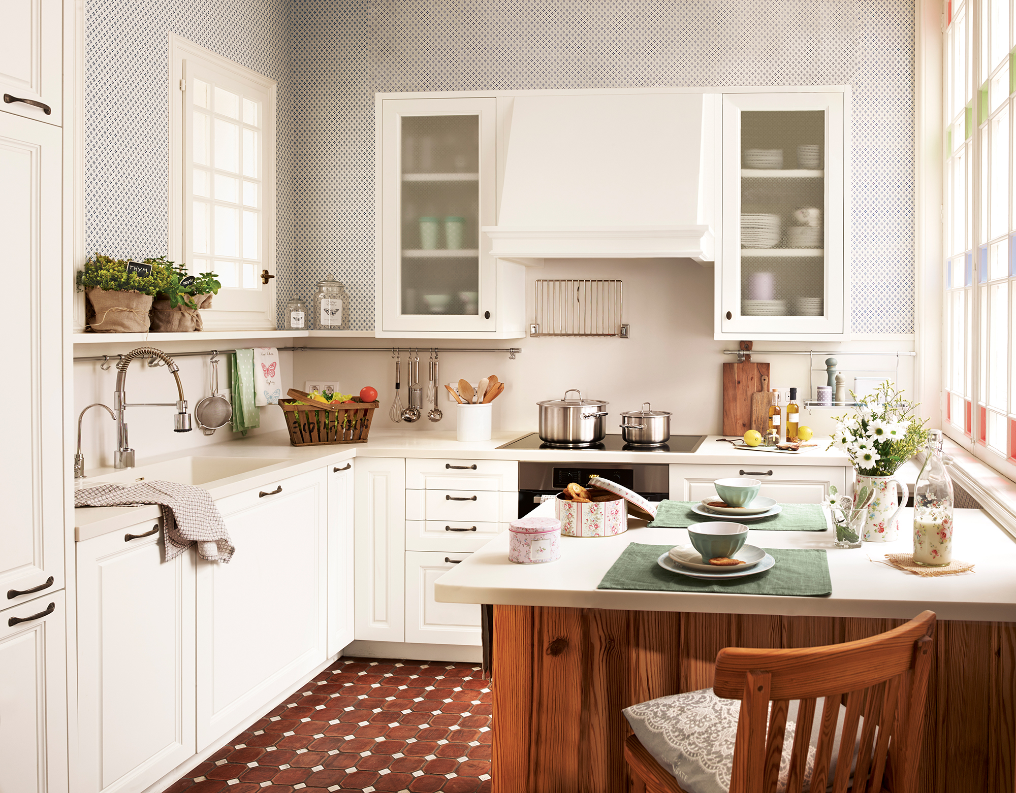 Cocinas las 50 mejores de el mueble - Mueble mesa cocina ...