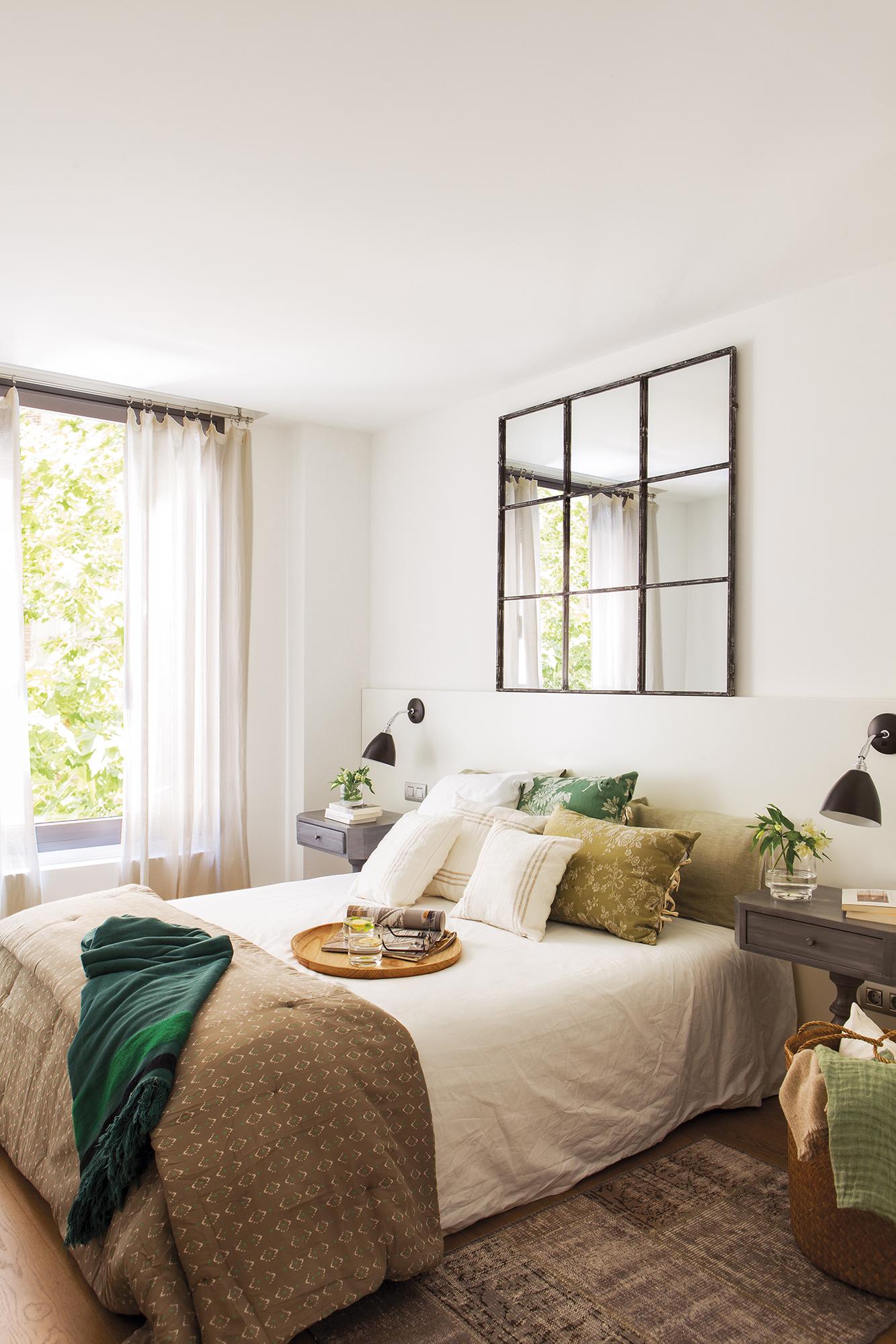 Cabeceros de cama de madera r sticos decorados o for Sillones modernos buenos aires