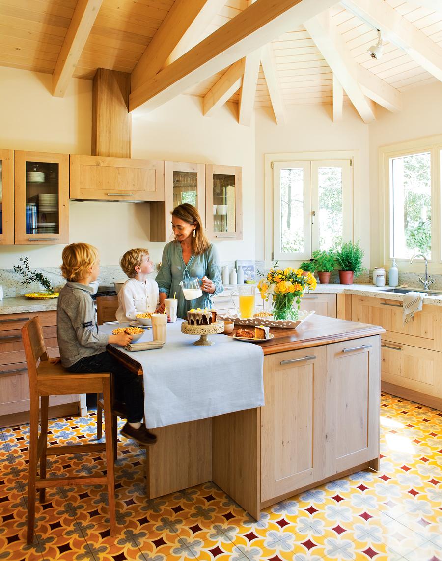 Reformas elige el estilo de tu cocina for Pavimentos para cocinas