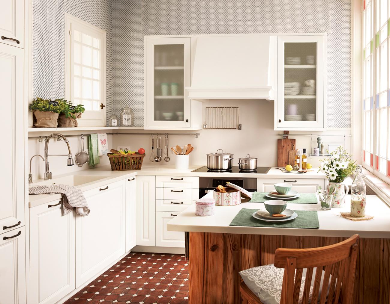 Pintar suelo cocina ad desde pintar los armarios o las for Pintar suelo cocina
