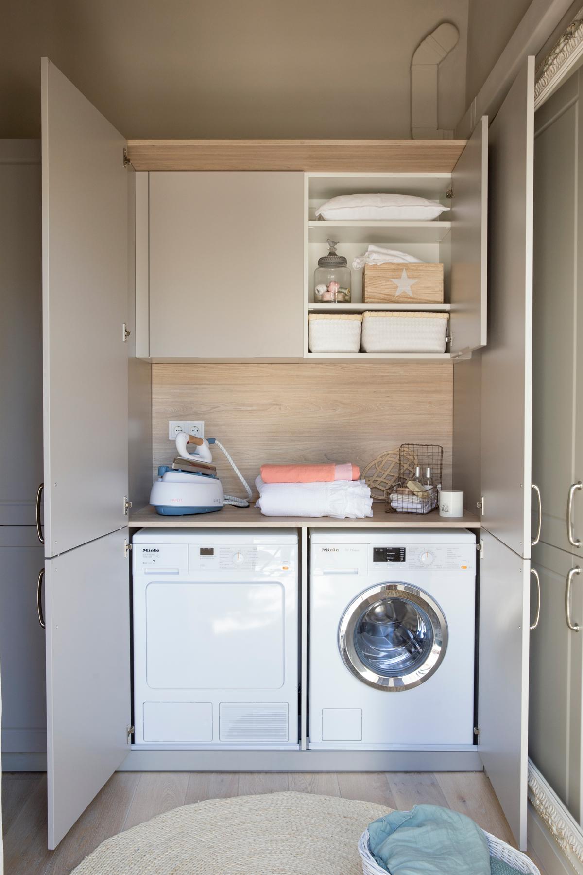 Ideas y soluciones que mejorar n tu casa - Medidas de lavadoras y secadoras ...