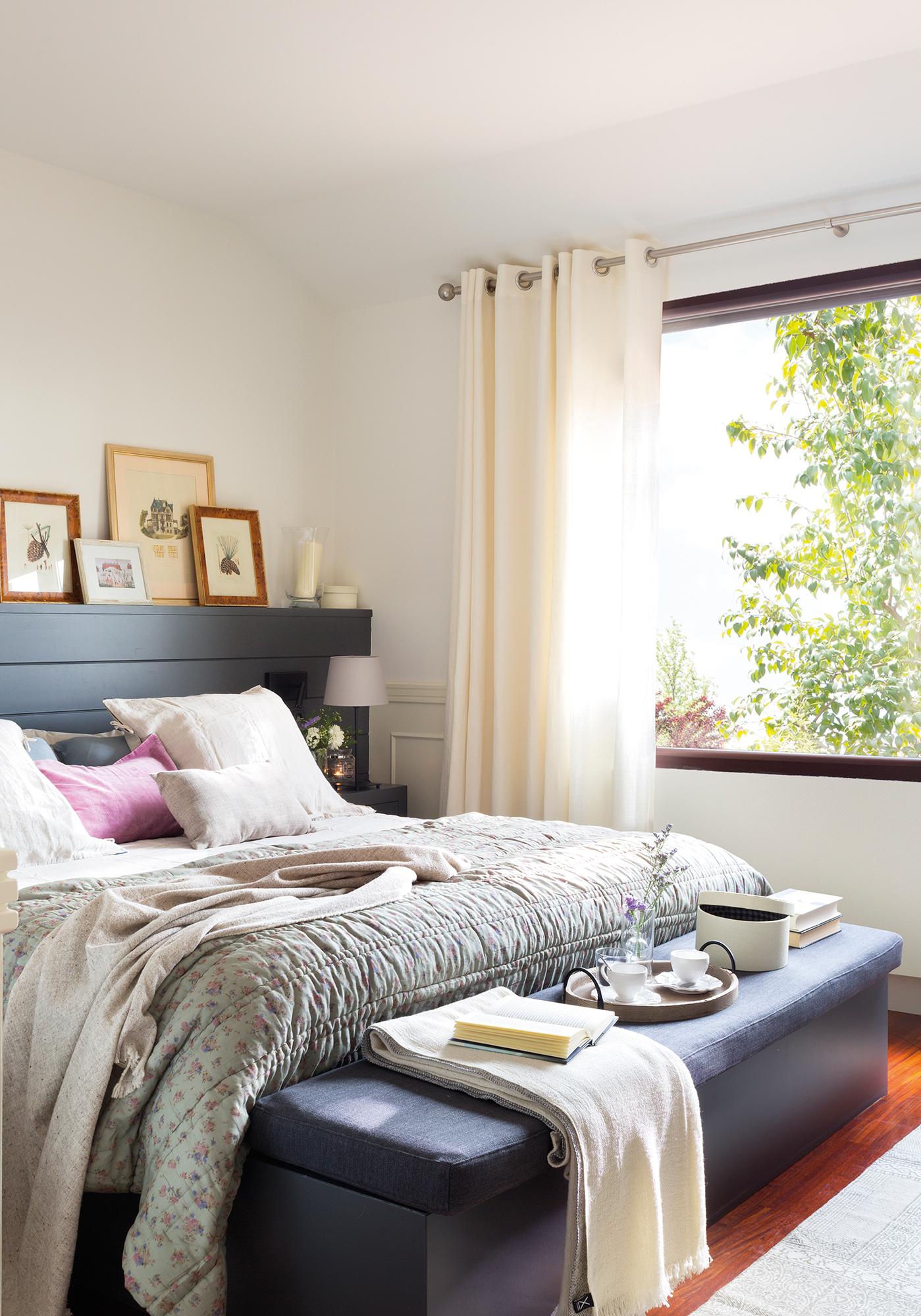 77 fotos de muebles de dormitorio for Dormitorio oscuro