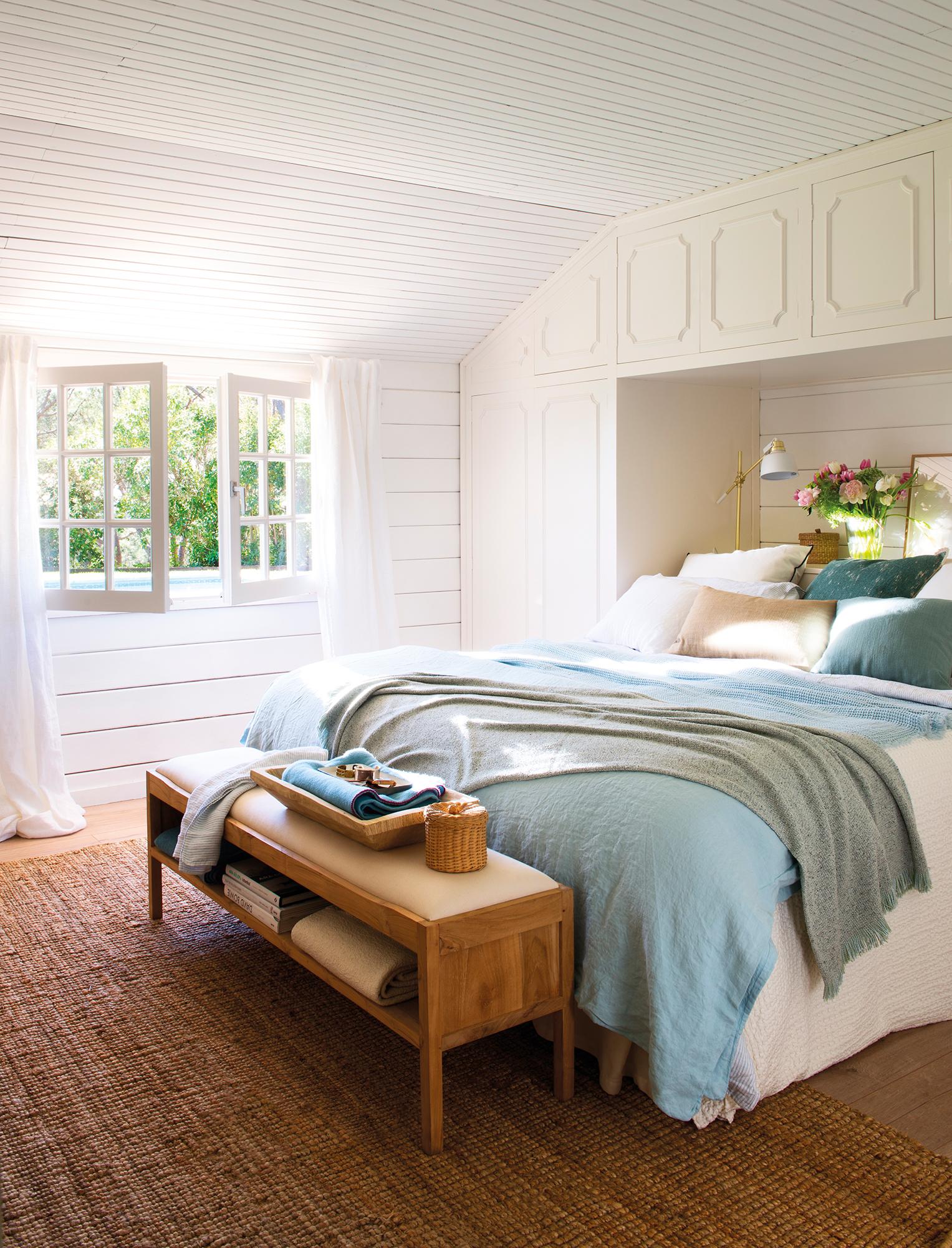 Guardar en el dormitorio: más de 15 ideas prácticas y capaces