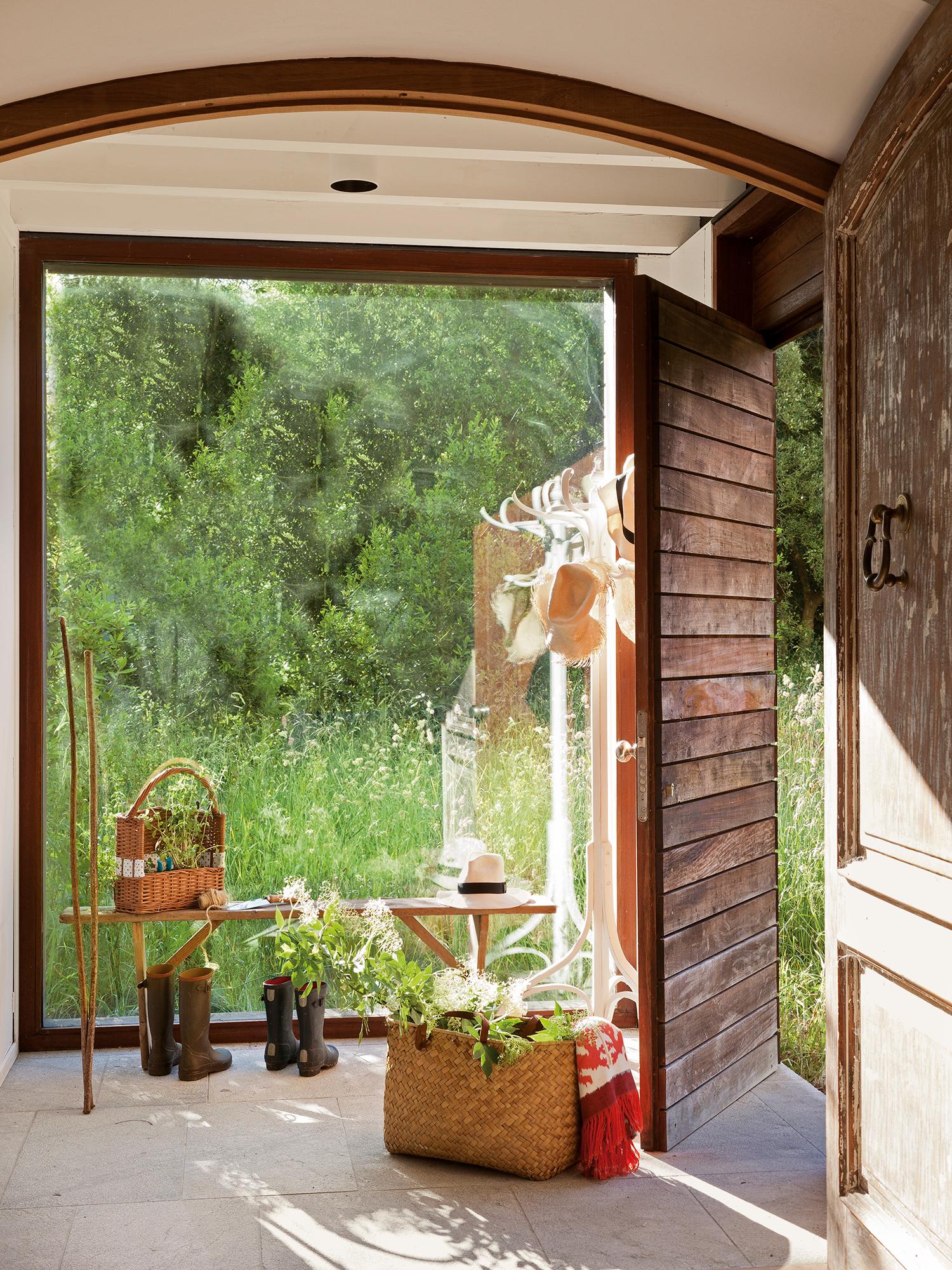 Recibidores los mejores 50 de el mueble for El mueble casas rusticas