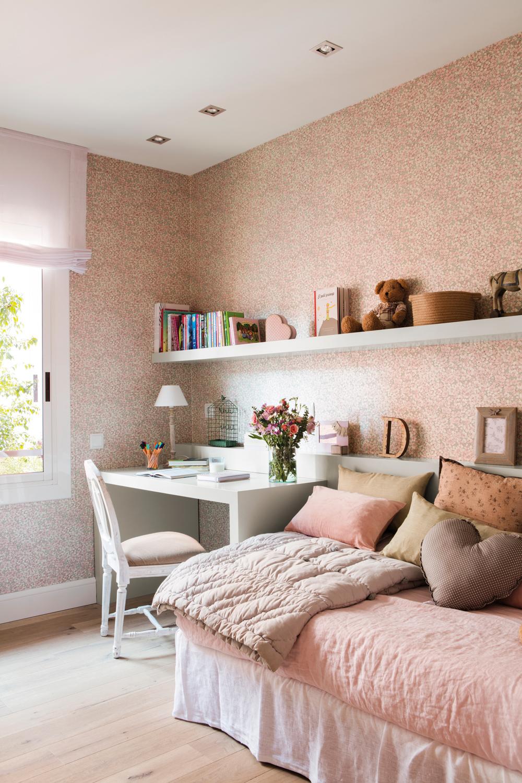 15 habitaciones para estudiar - Papel pintado para habitacion de bebe ...