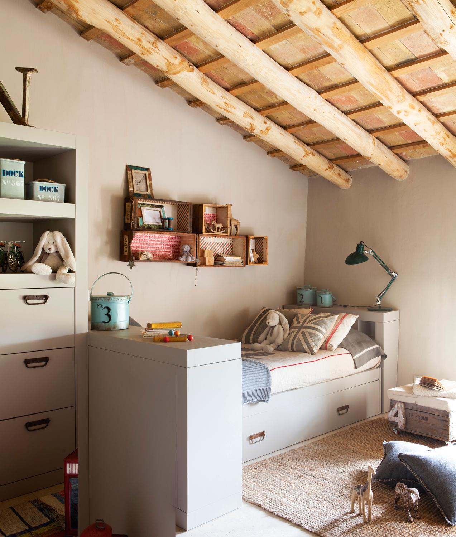 Soluciones de almacenaje en la habitaci n de los ni os for Bona nit muebles