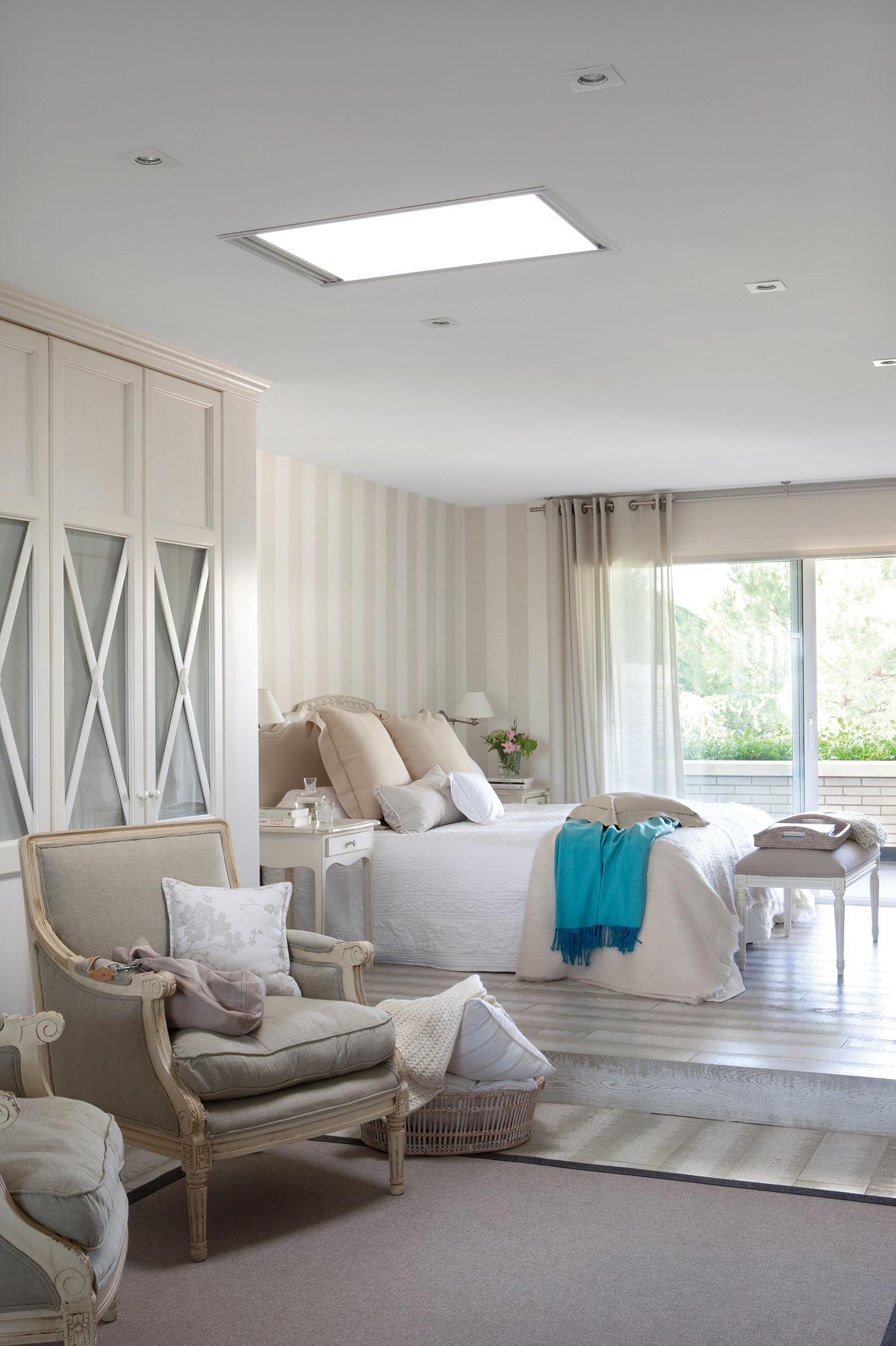 Reformas para ganar luz en casa - Luz para dormitorio ...
