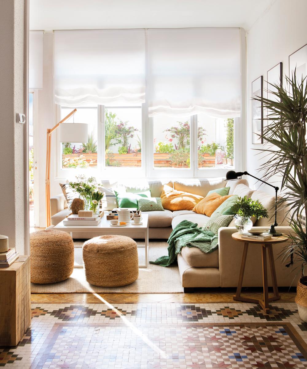 Salones muebles para la decoraci n del sal n comedor el - Suelos para salones ...