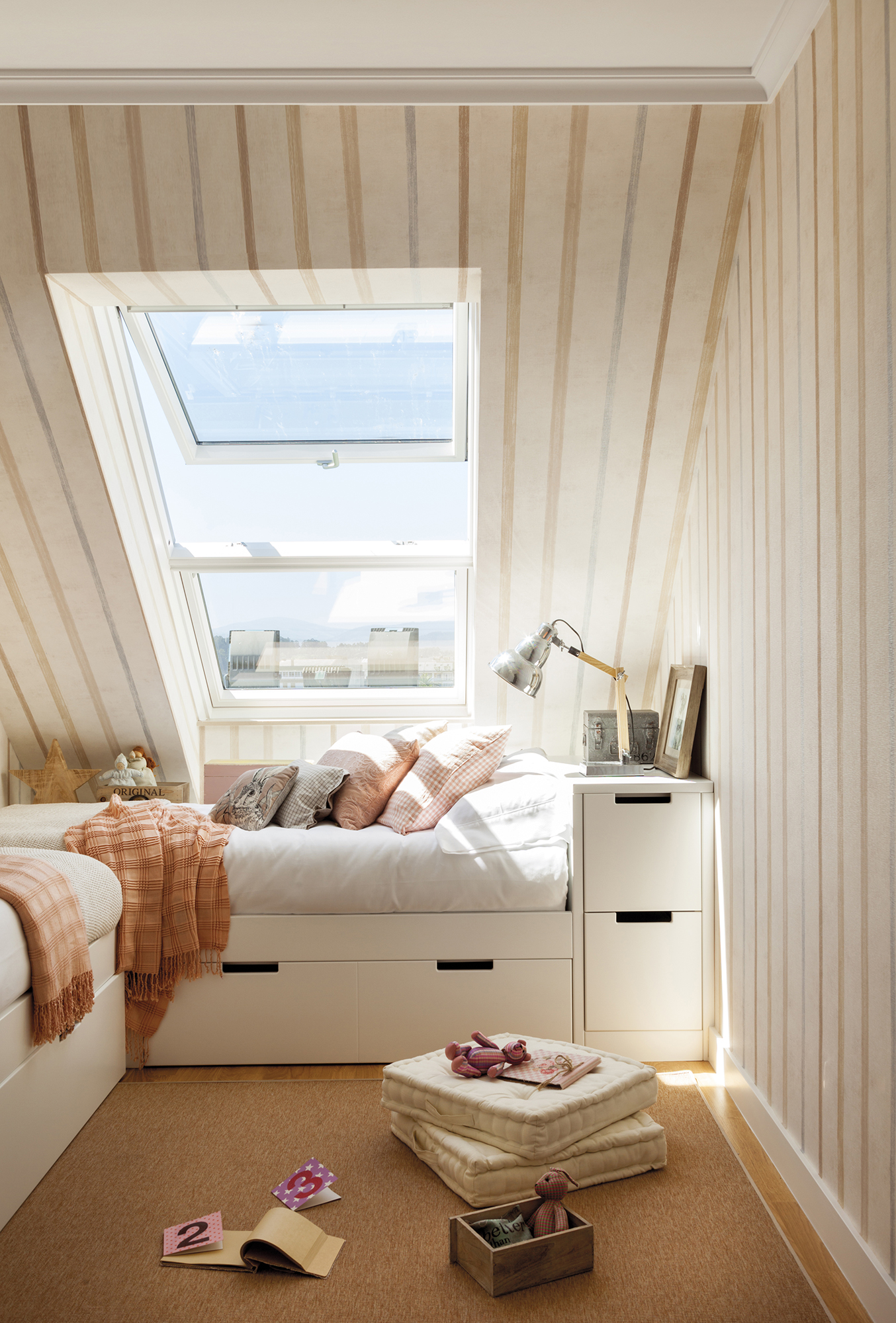 Ni os muebles y decoraci n de habitaciones infantiles - Dormitorio infantil cama nido ...