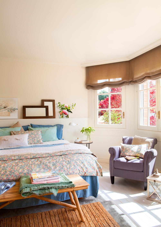 50 dormitorios principales para coger ideas - Butaca dormitorio ...