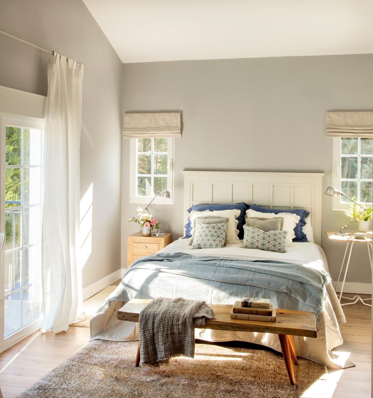 50 dormitorios principales para coger ideas - Dormitorio estilo romantico ...