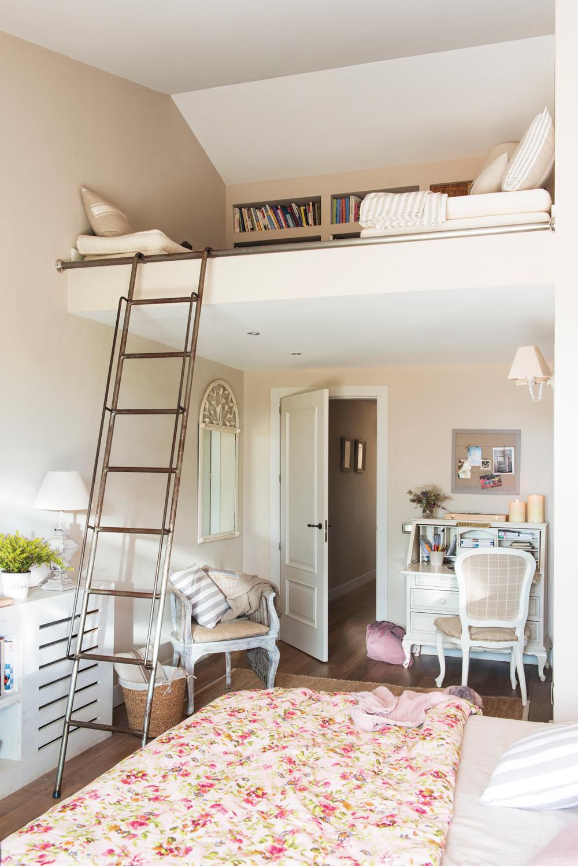 50 dormitorios principales para coger ideas for Dormitorios para habitaciones pequenas