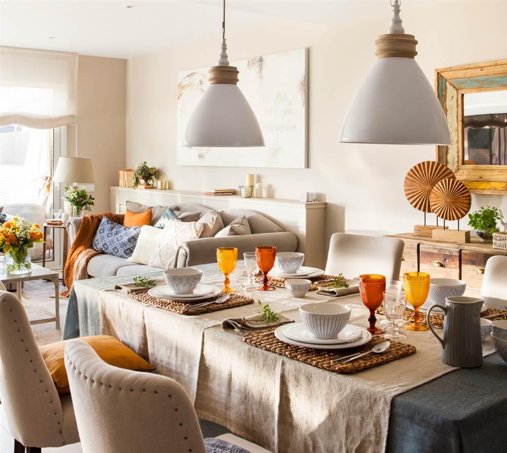Ideas para decorar la mesa - Decorar una mesa de comedor ...