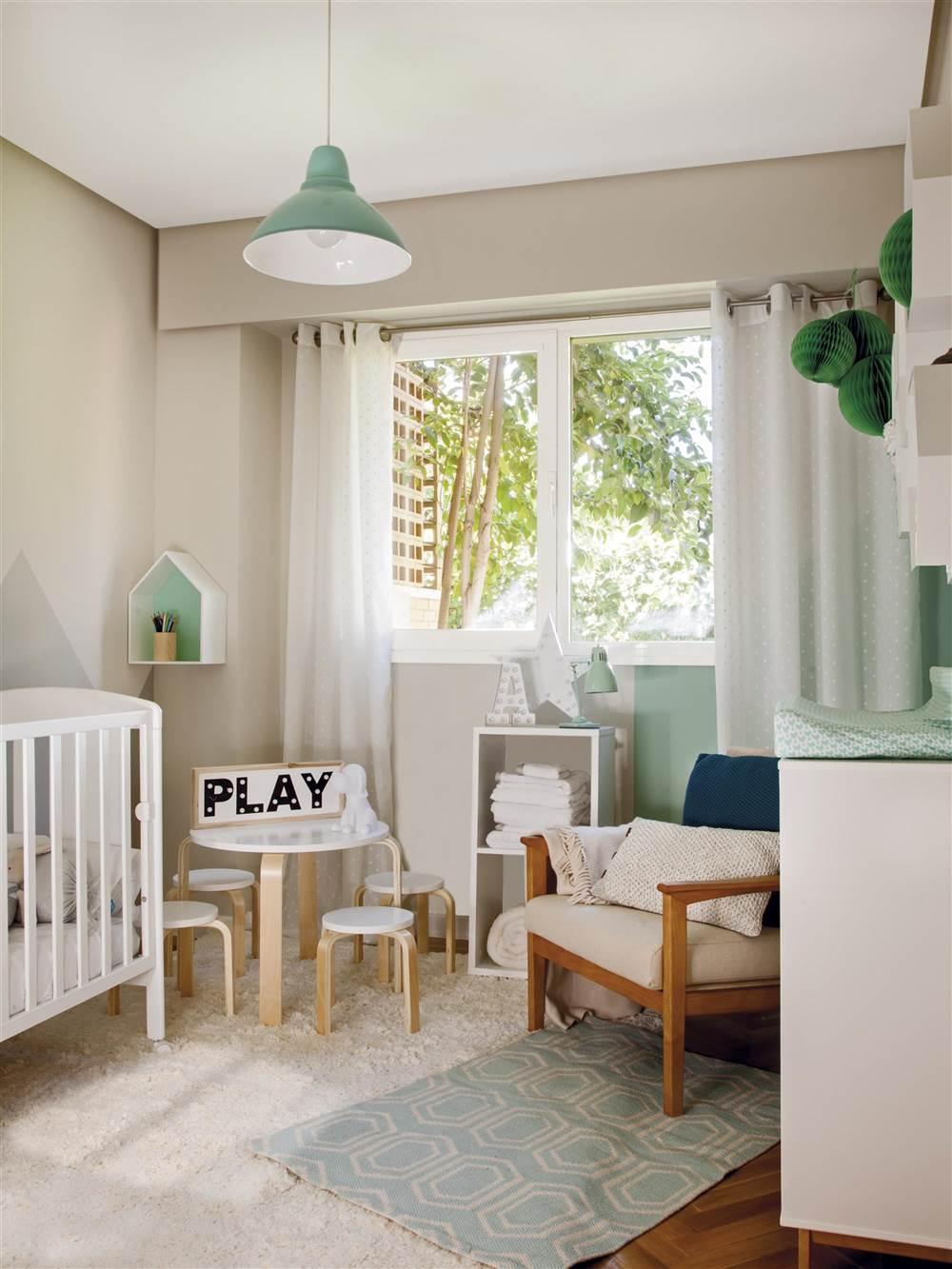 Un dormitorio para cada edad - Pintura habitacion bebe nina ...