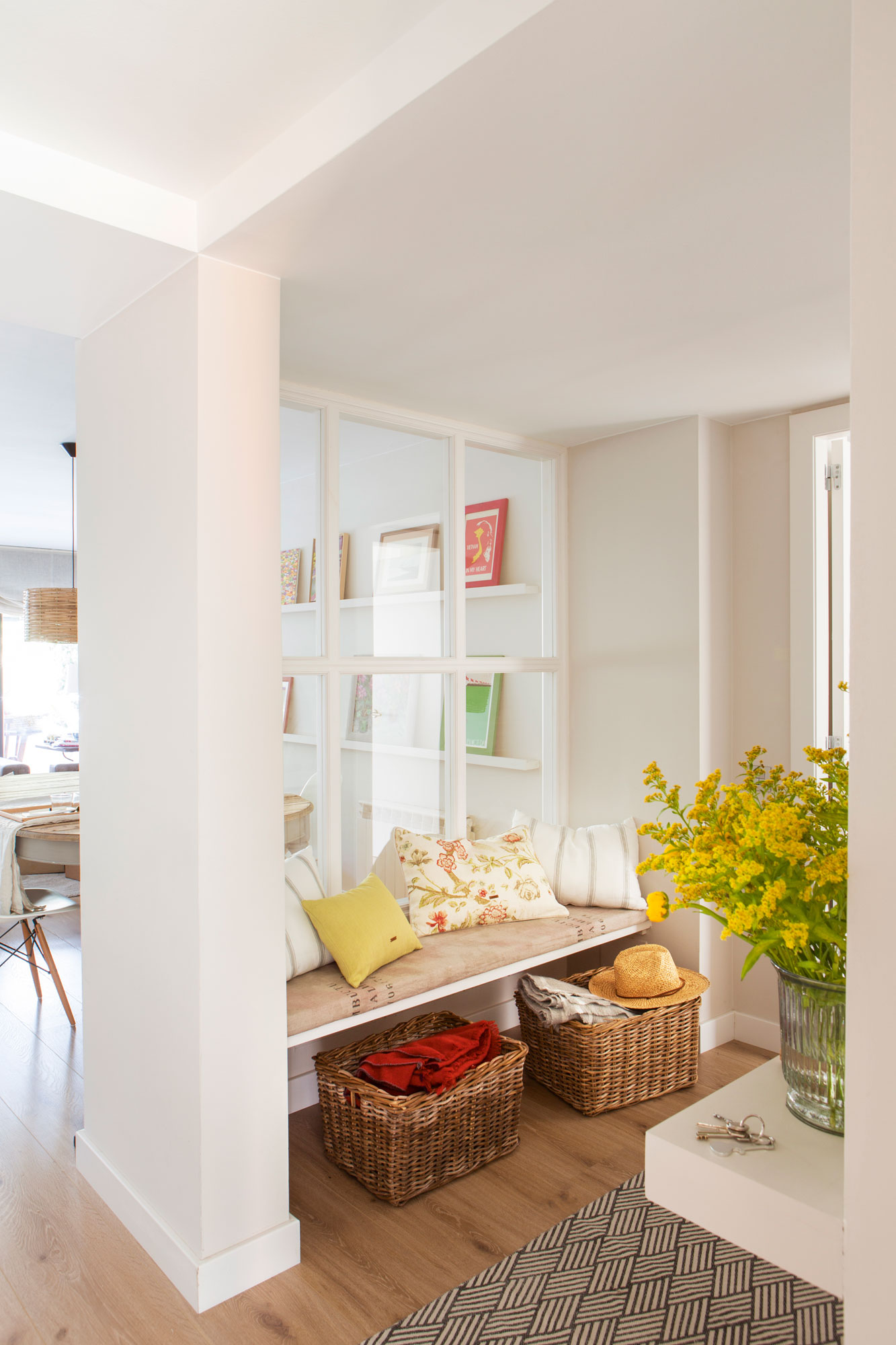 Recibidor muebles zapateros e ideas para recibidores - Comoda para recibidor ...