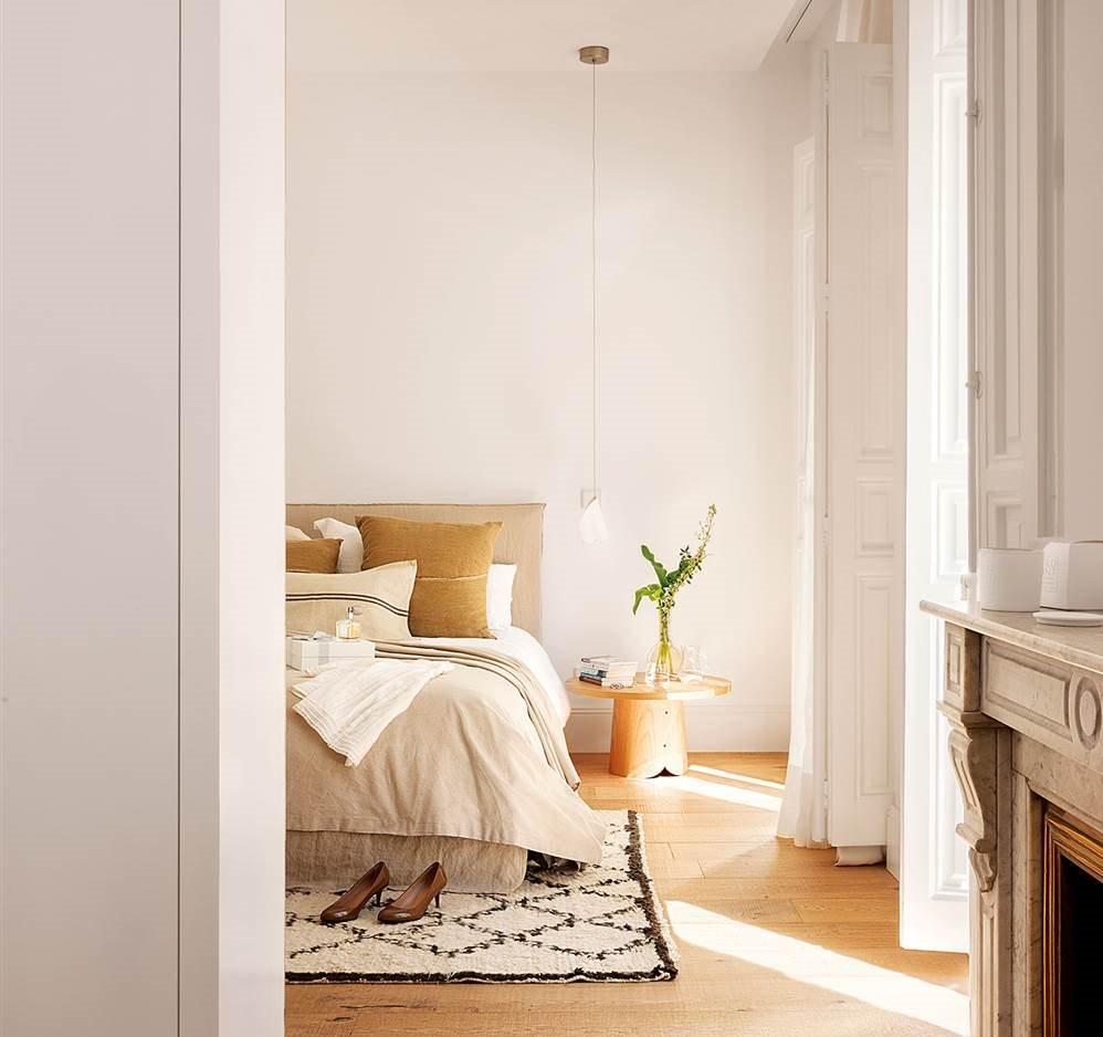 Decorar con alfombras - Alfombras para dormitorio ...