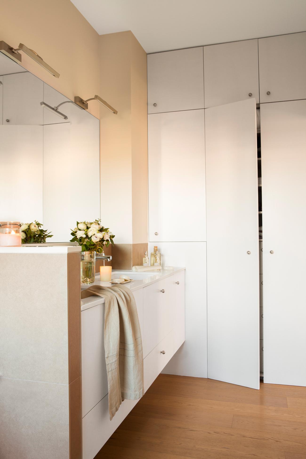 Armarios roperos armarios de cocina y armarios de ba o - Armarios para el bano ...