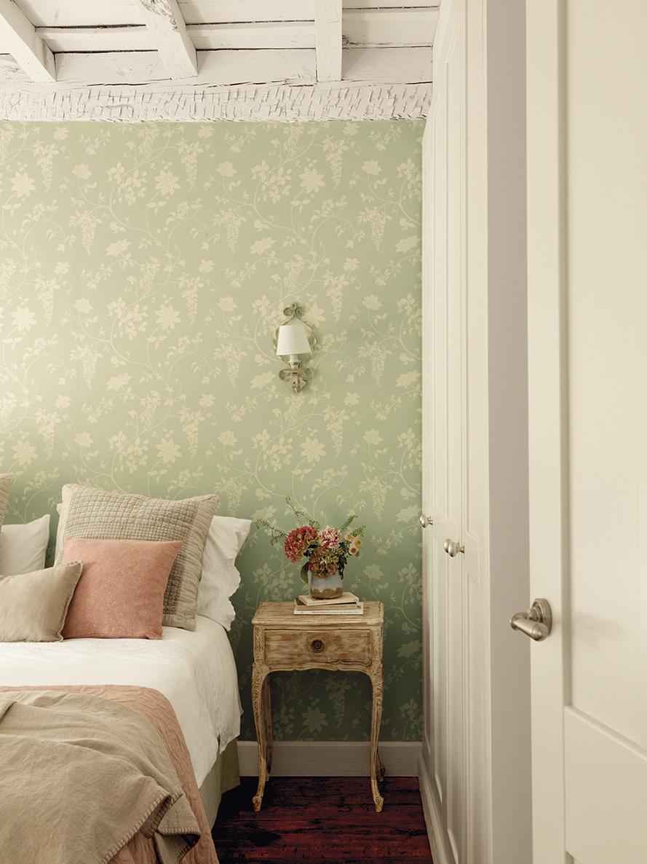Papel pintado c mo decorar con papel pintado para paredes - Cabeceros con papel pintado ...