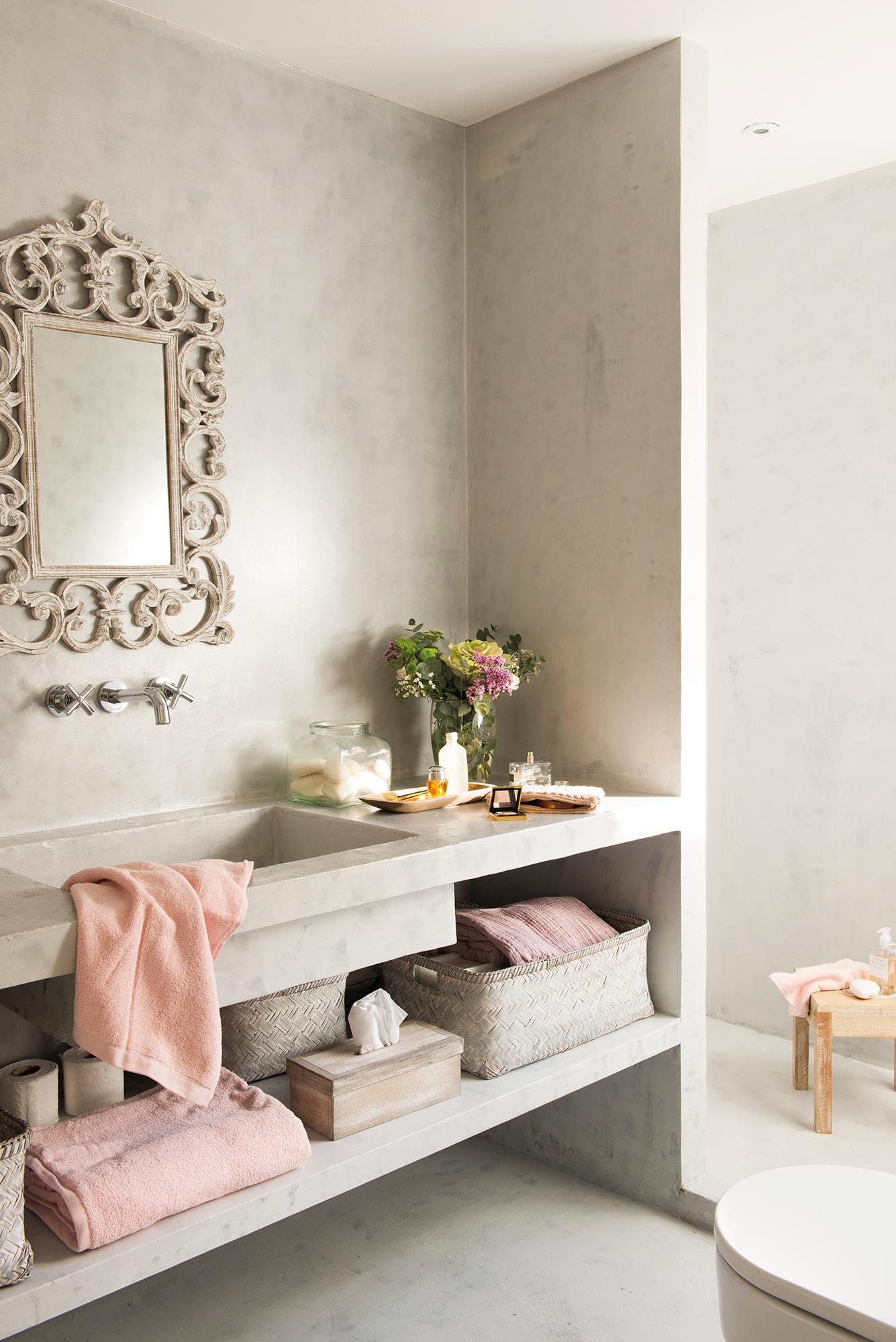 Ba os los 50 mejores de el mueble Diseno de una habitacion con bano