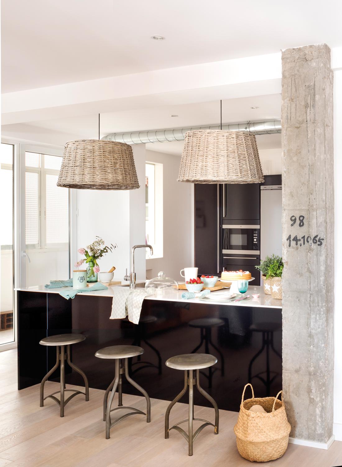 Ideas para decorar el office - Taburetes barra cocina ...