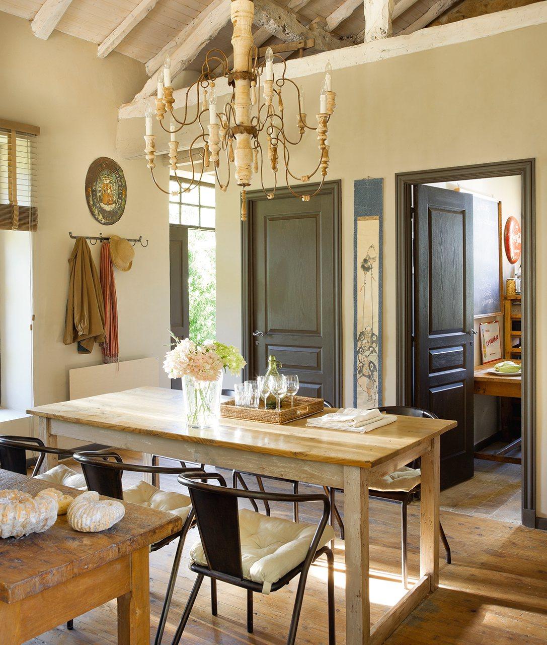 las mejores casas r sticas de oto o de el mueble On muebles de cocina los cantabros