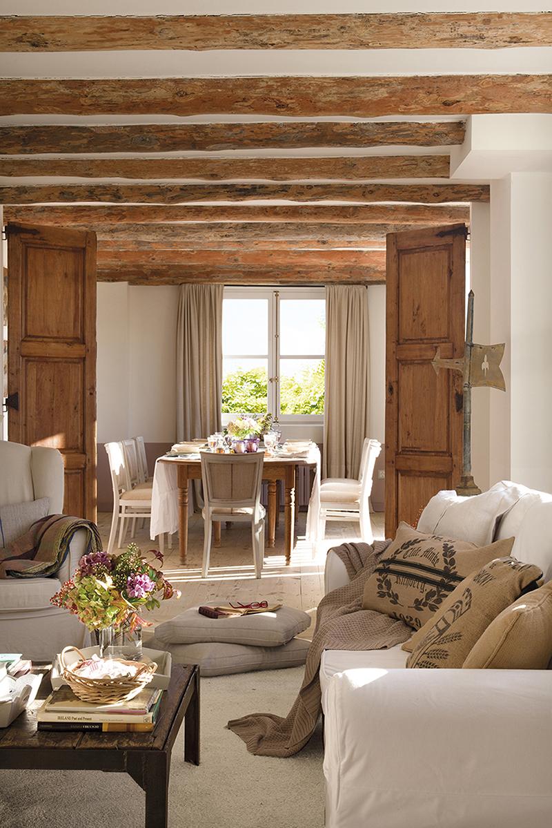 Un antiguo pajar en ruinas convertido en una preciosa casa de campo - Casas de campo restauradas ...