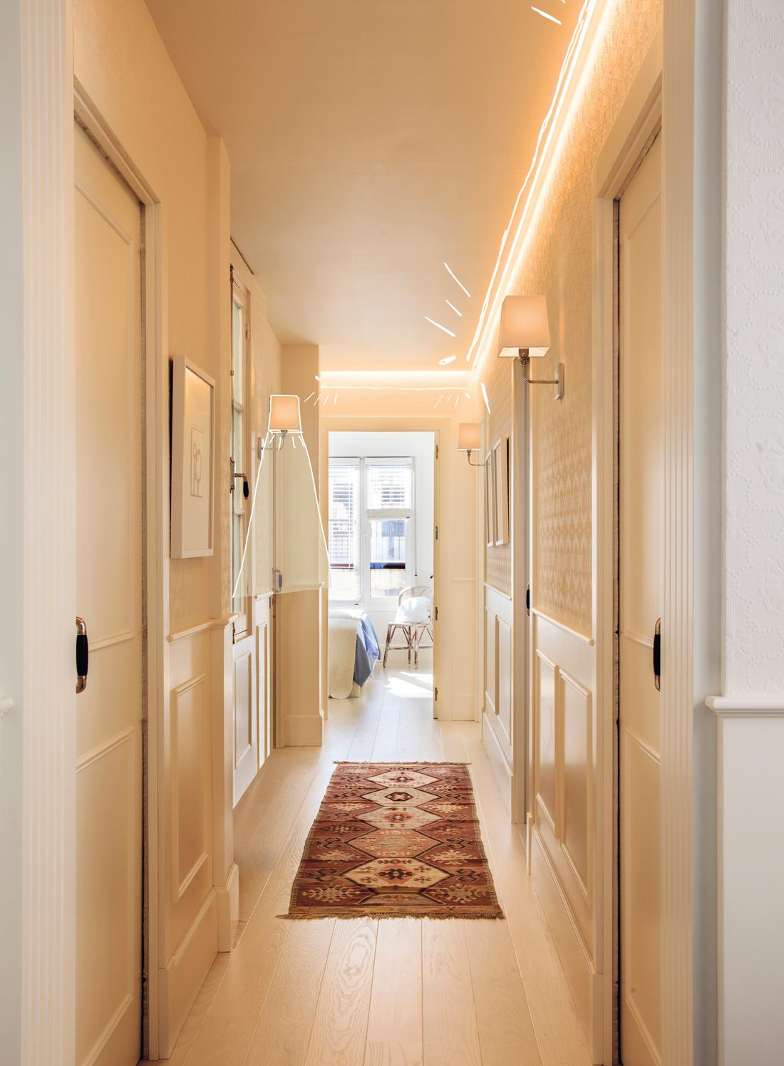 Ilumina bien cada estancia de tu casa for Puertas blancas economicas