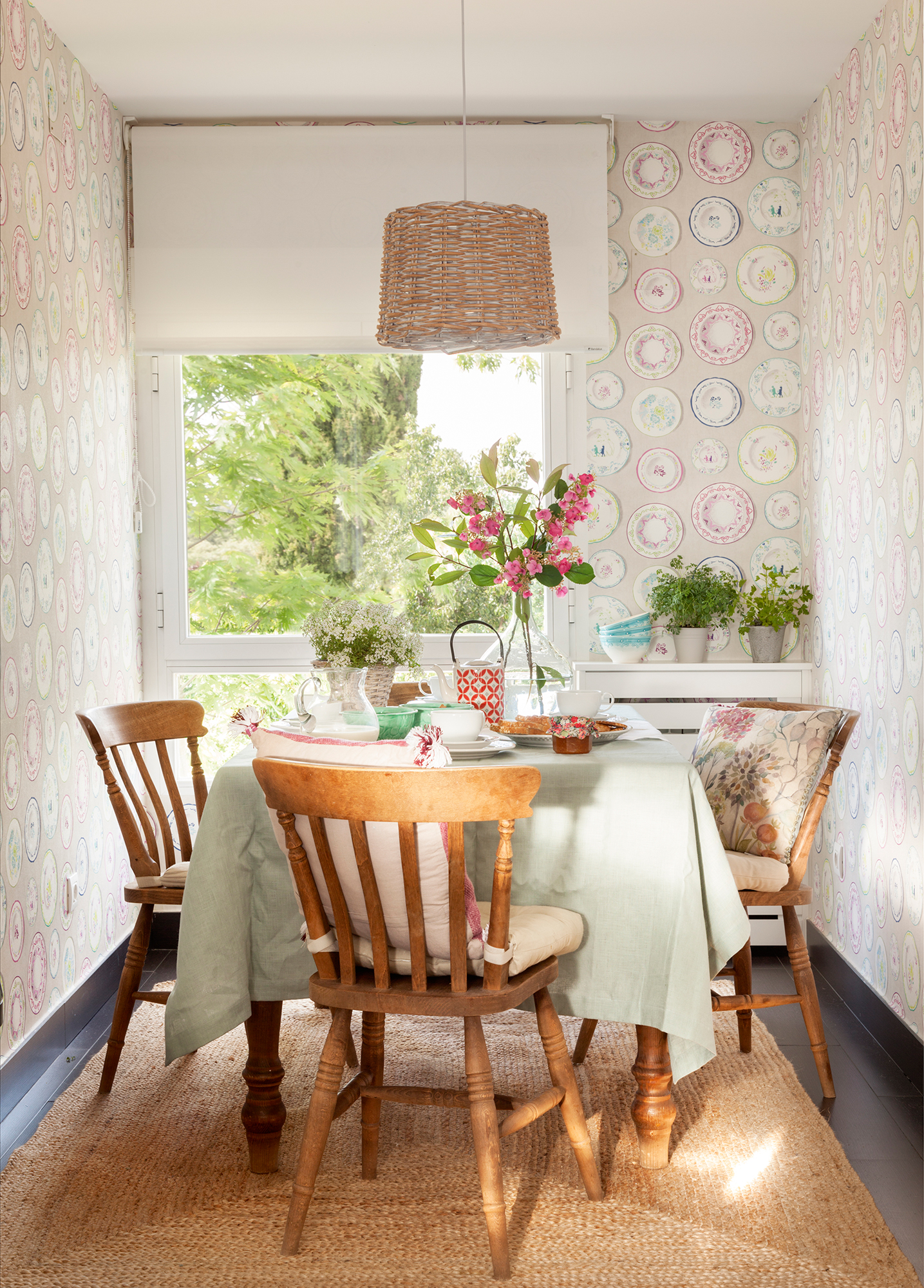 Comedor 15 ideas para decorar sus paredes - Paredes decoradas modernas ...