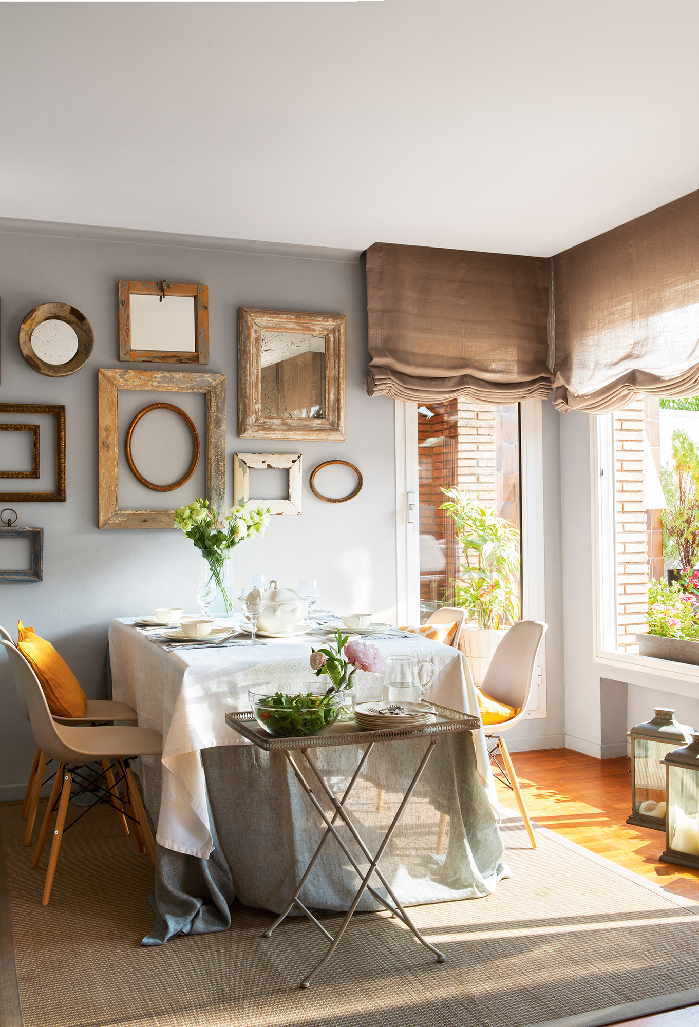 Comedor 15 ideas para decorar sus paredes - Como decorar las paredes de un salon ...
