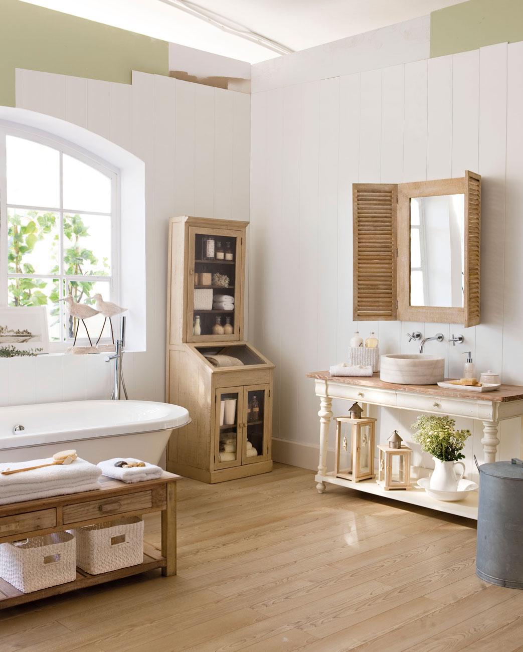 Espejos de todos los estilos y tama os el mueble for Espejos decorativos de madera