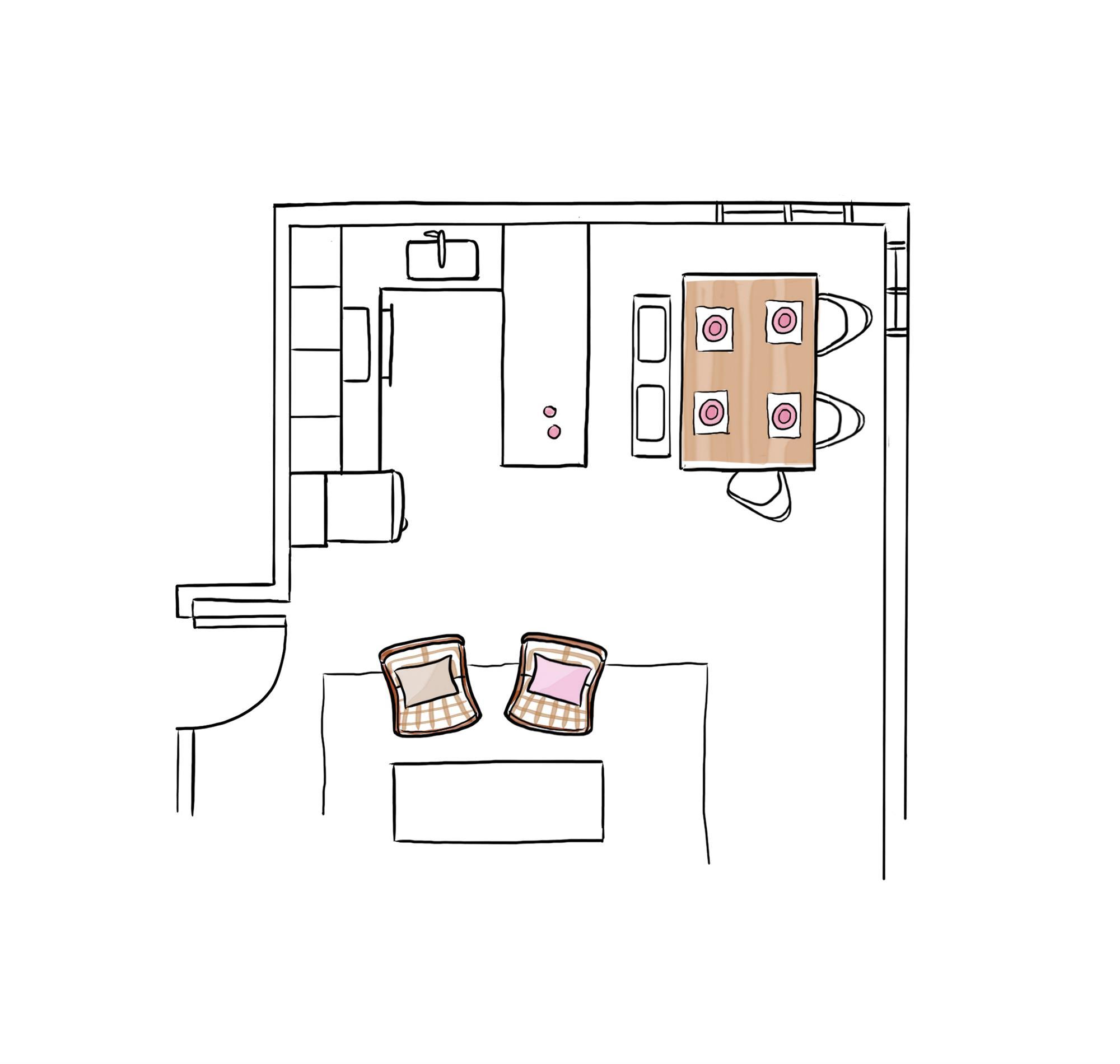 C mo hacer un plano a escala paso a paso for Como hacer un plano de una cocina