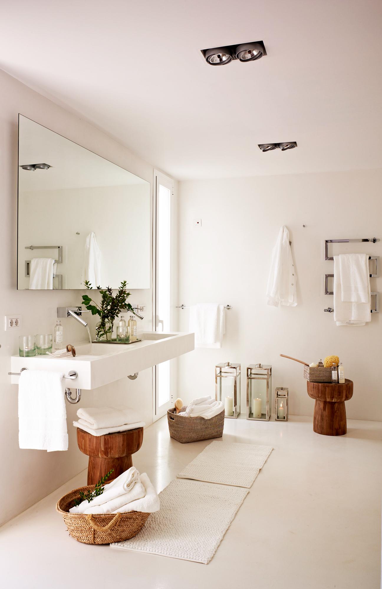 Radiadores toallero claves para acertar - Como decorar un bano pequeno moderno ...
