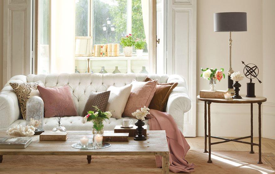 12 piezas vintage siempre de moda for Salon clasico blanco