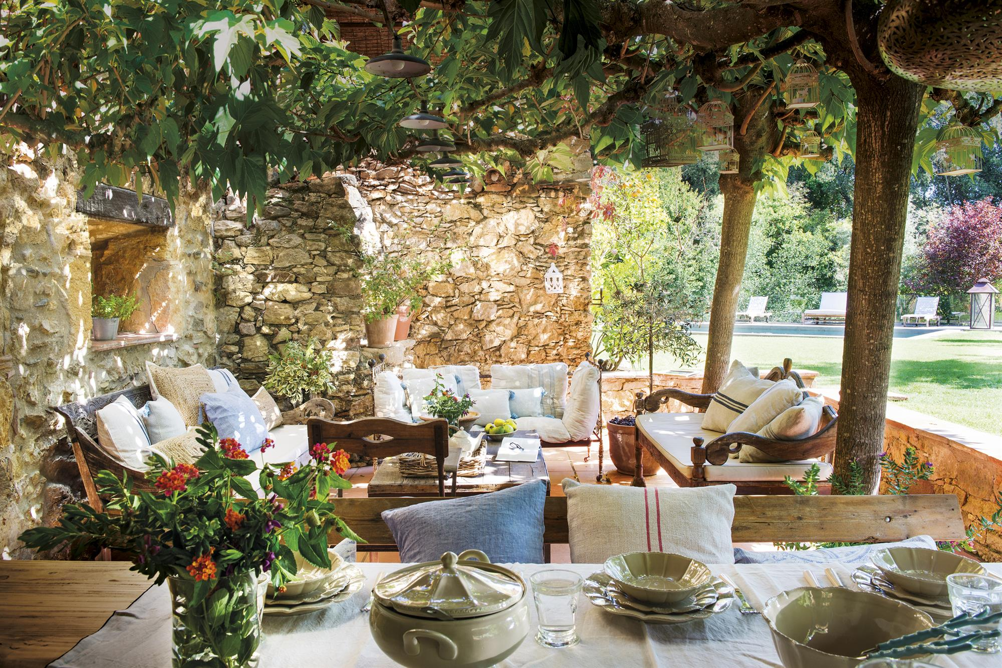 Jardines Todo Sobre La Decoraci N De Jardines De Casas # Muebles Oasis Caseros