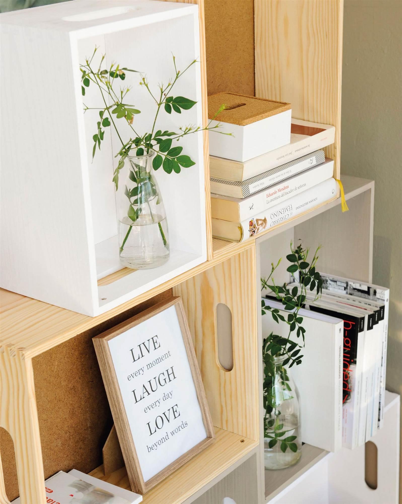 Diy muebles con cajas de madera vintage - Archivadores leroy merlin ...
