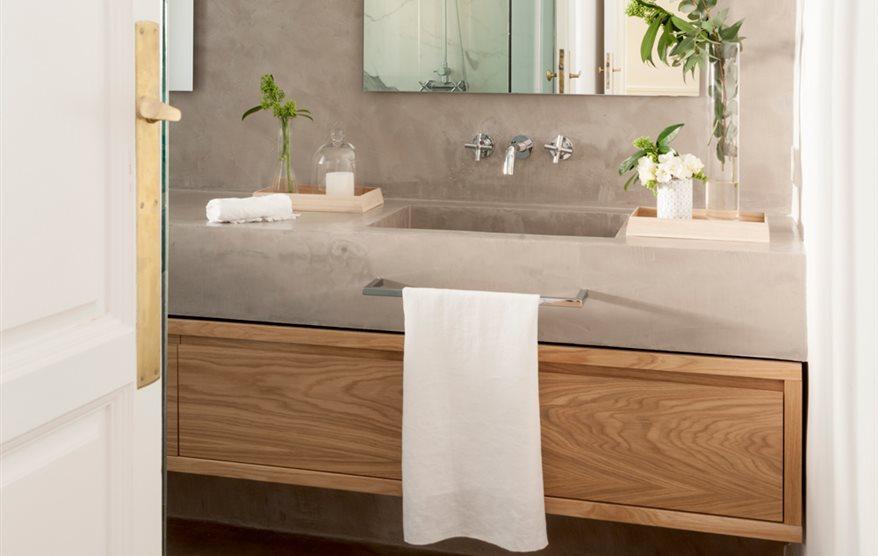 Aki lavabos categora aki espejos bao awesome iluminacion for Mesa plegable bricomart