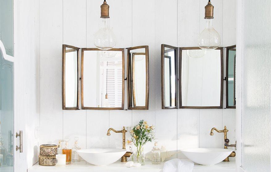 Espejos de ba o 15 dise os de todos los estilos - Espejos biselados para banos ...