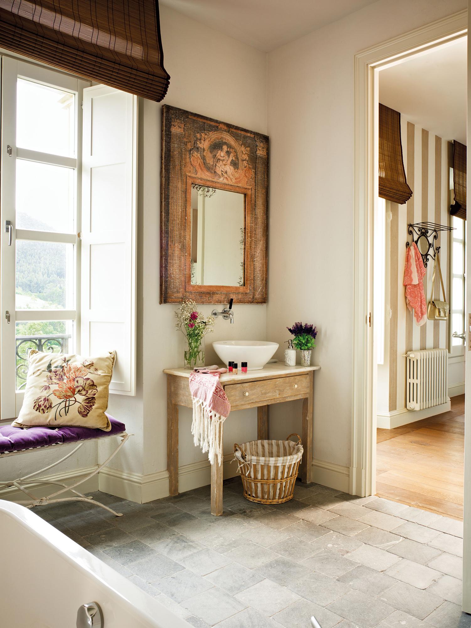 Espejos de ba o 15 dise os de todos los estilos - Espejos antiguos de pared ...