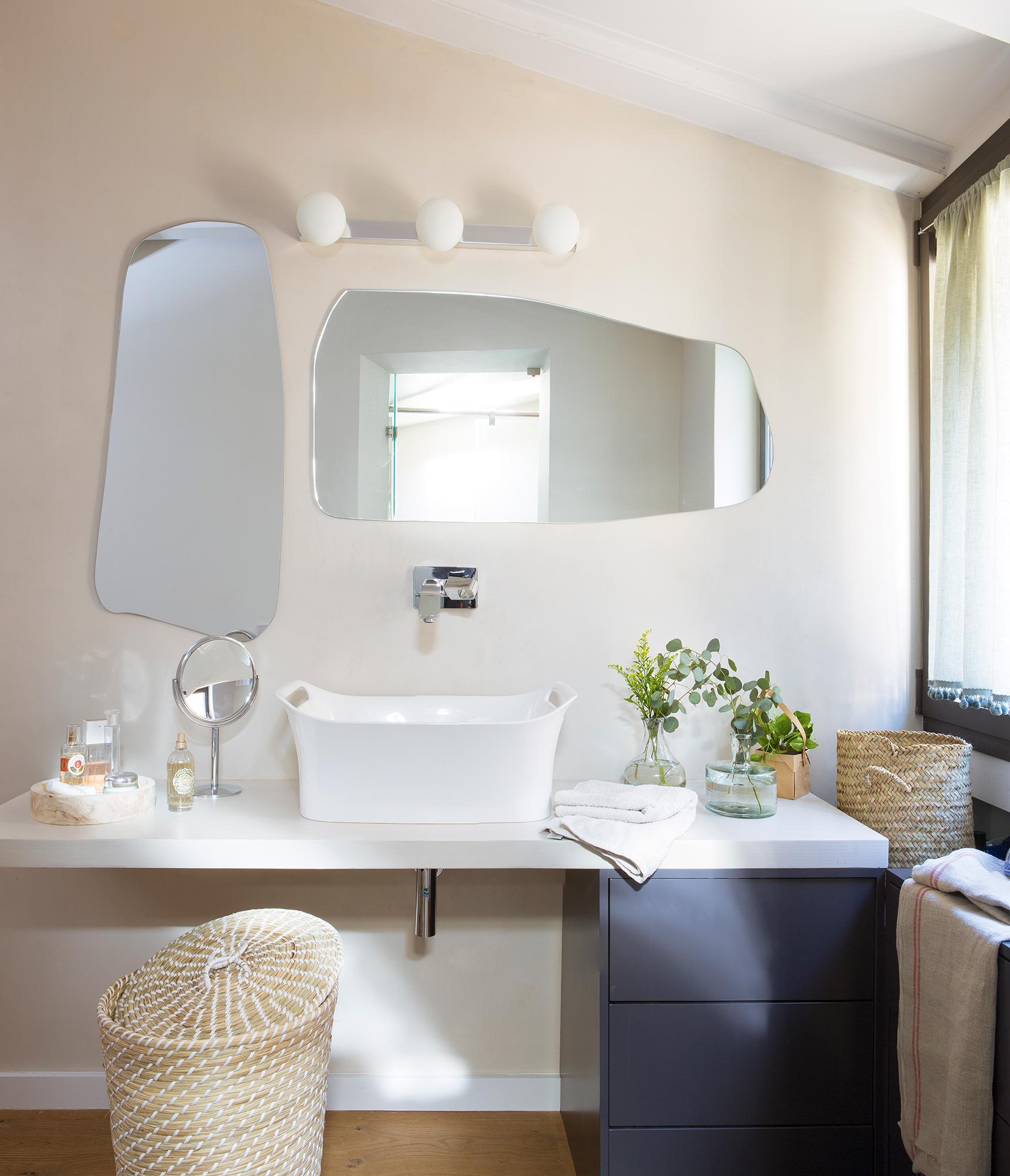 Muebles Ba O Decoraci N Accesorios Mamparas Y Azulejos Elmueble ~ Colgar Espejo Baño Sin Taladrar