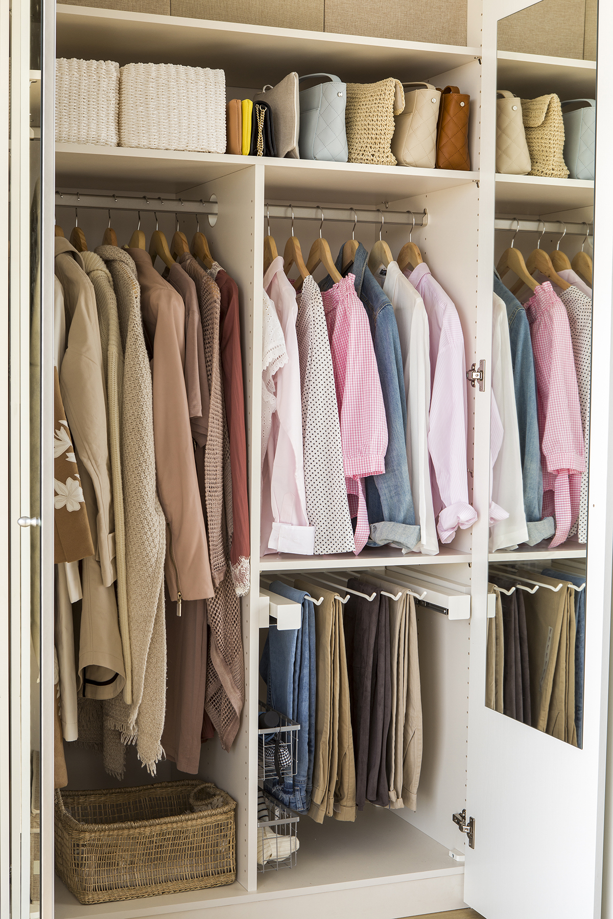 C mo ordenar con el m todo marie kondo - Organizar armarios empotrados ...