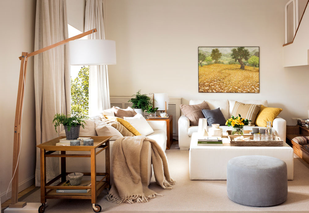 Salones muebles para la decoraci n del sal n comedor el for Mesas para salon