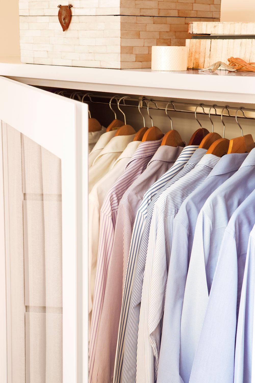 Un armario a tu medida - Como revestir un armario ...