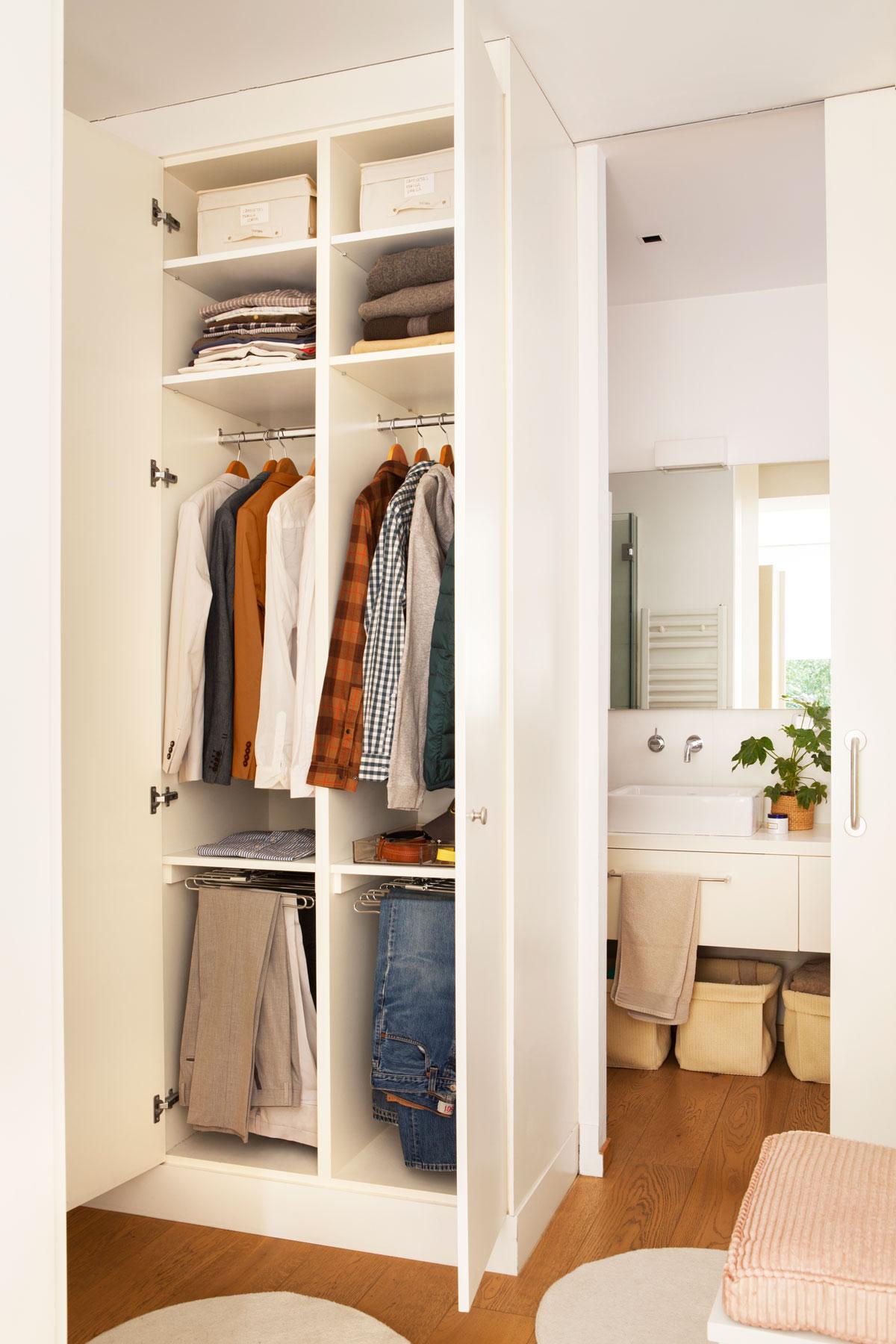 Distribucion de armarios empotrados por dentro - Disenar armarios a medida ...