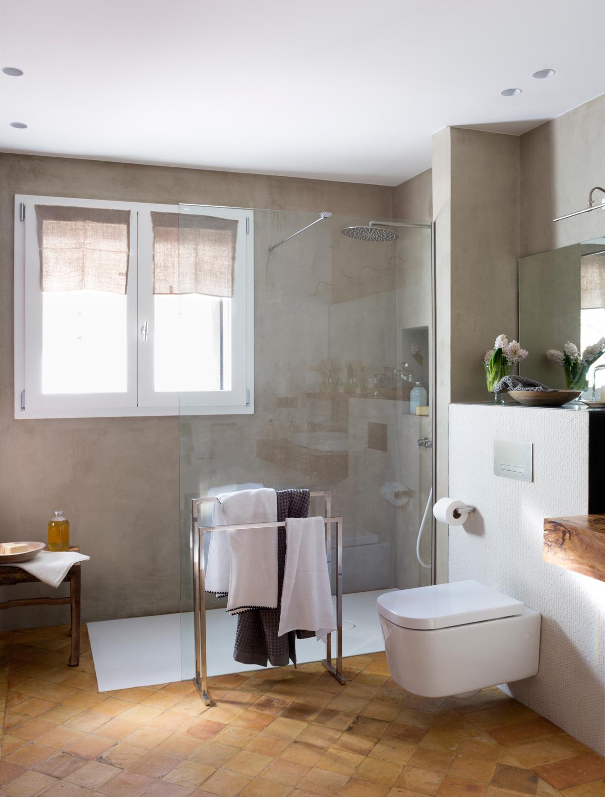 178 fotos de duchas - Banos con plato ducha ...