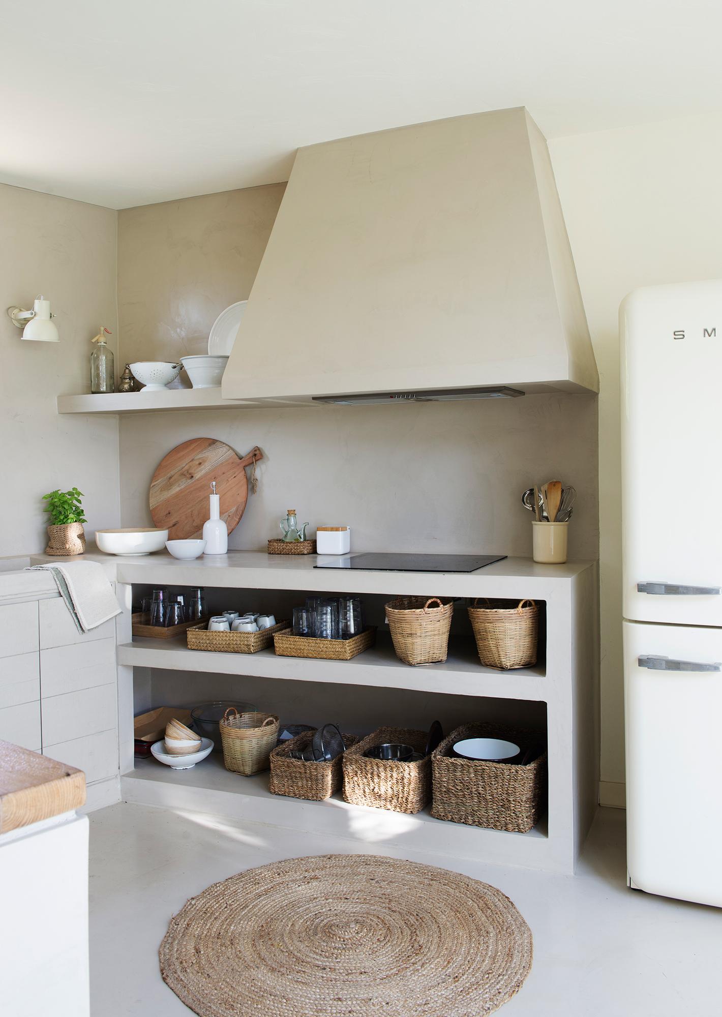 Muebles de cocina elmueble - Cocinas de obra rusticas ...